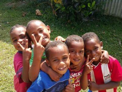 Meet the real Fijian kids in their own village on the Sigatoka River Safari Tour in Fiji