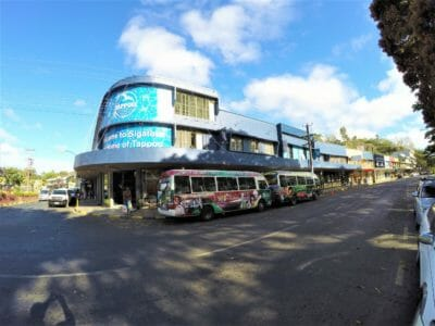 Sigatoka town on the Coral Coast of Fiji