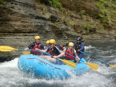 Full Day White Water River Rafting Tour deep in the Remote Interior of Fiji