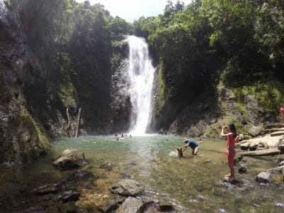 Full day tour on an inland local River Boat, Waterfall Tour & Lunch at a Traditional Fijian Village