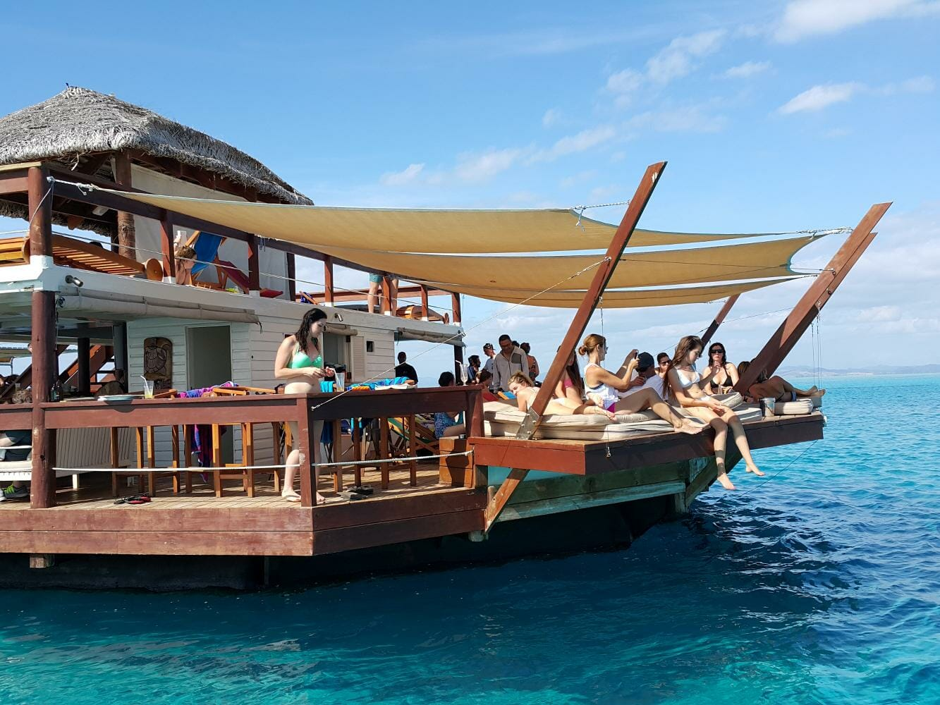 Half day tour to Cloud 9 in Fiji