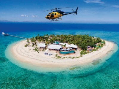 Heli Tours over the Malamala island in Fiji