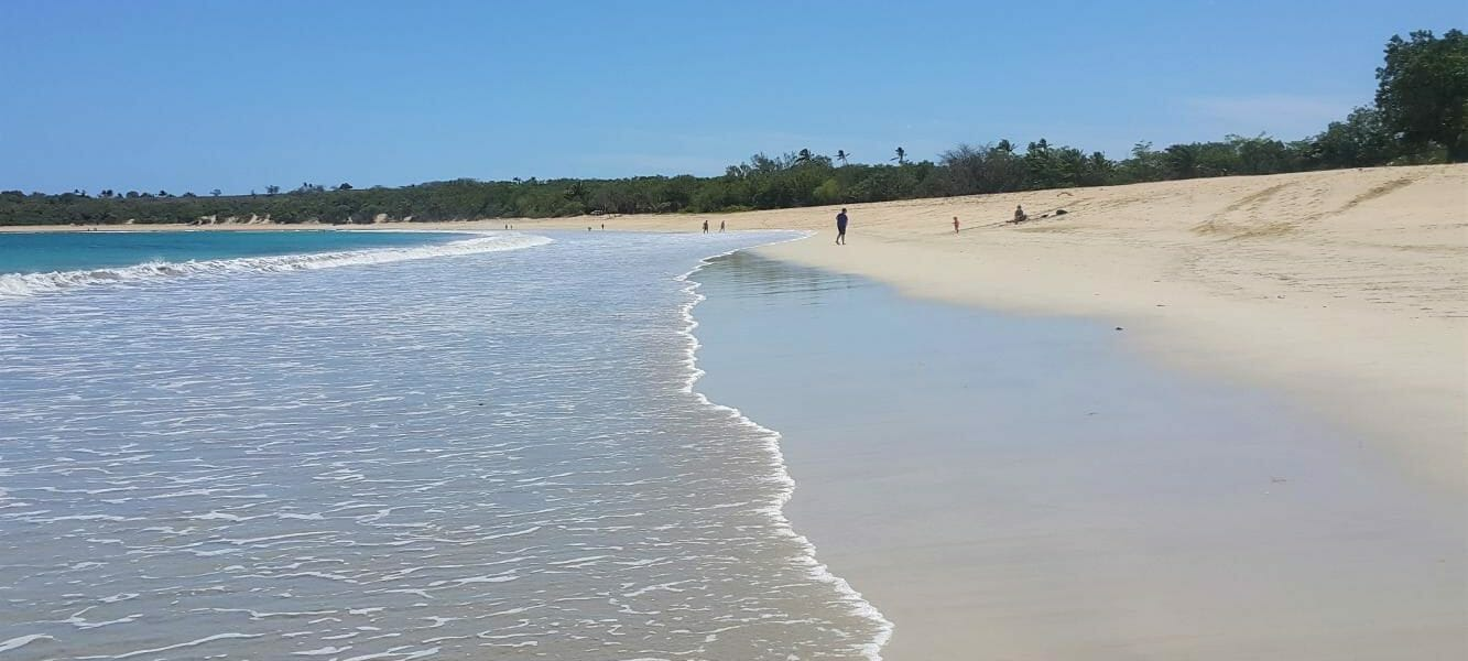 Natadola Beach full day tour from Nadi on the Coral Coast with a local tour guide in Fiji