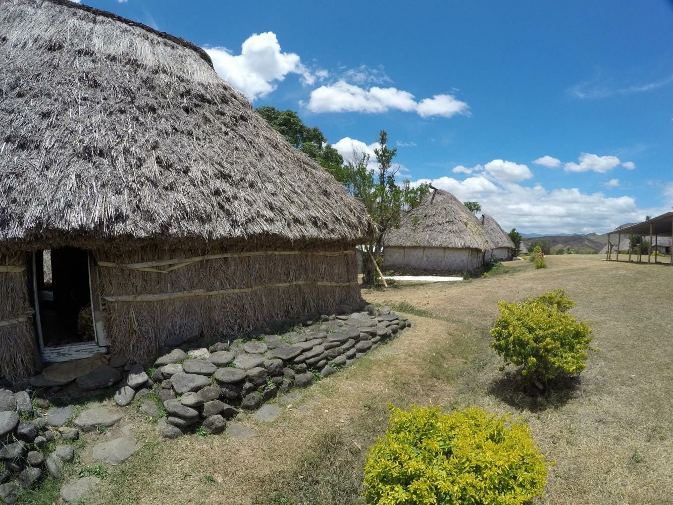 Private guided day tour to Navala Village with a tour by a local in Fiji