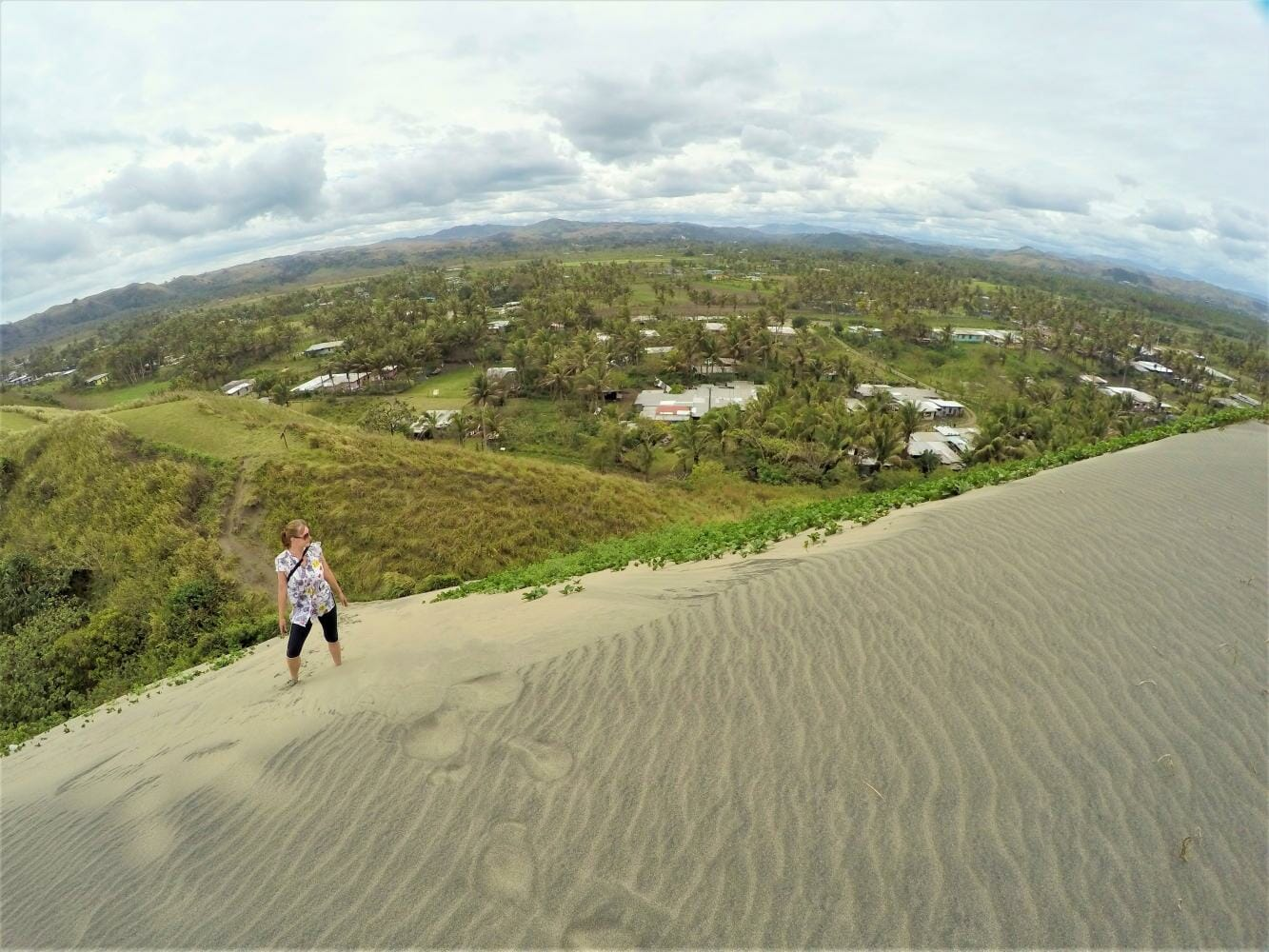 Sigatoka Sand Dunes on private guided tour by a local in Fiji