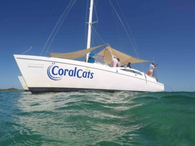 Day tour on Coral Cats with swimming, snorkelling and sailing in Fiji -smaller-2